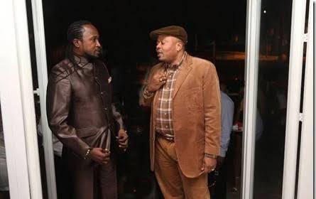 Werrason et JB Mpiana