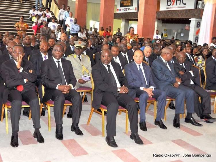 Joseph Kabila aux obsèques de Tabu Ley