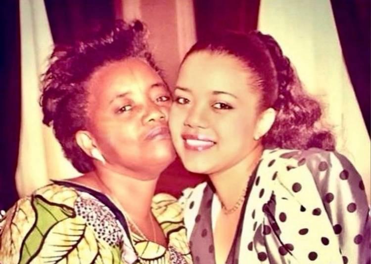 Lina Pembe et sa maman Wetemwami