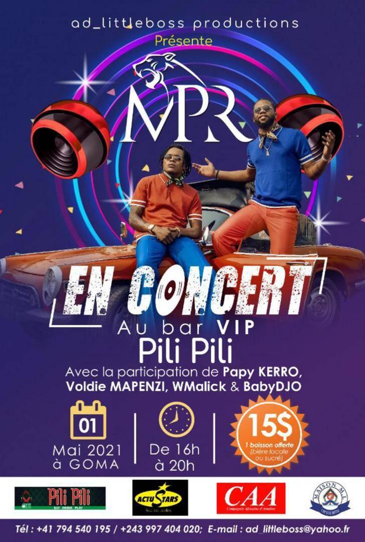 Mpr en concert à Goma