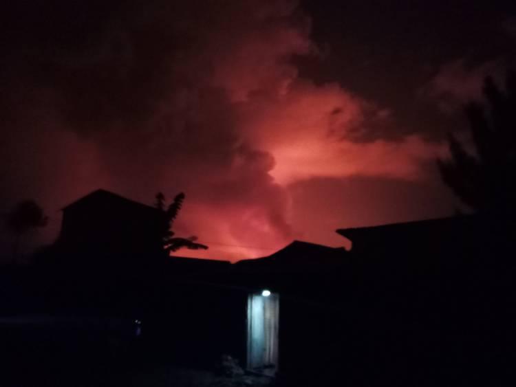 Éruption volcanique de Nyiragongo