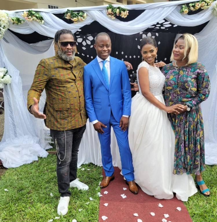 Le mariage de la fille de Baby Ndombe